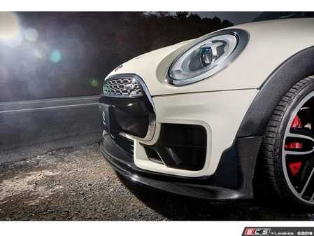 ES#4045748 - 3101-25411 - 3D Design F54 MINI Cooper Clubman JCW Carbon Front Lip - Individualize your MINI's looks with this front spoiler - 3D Design - MINI