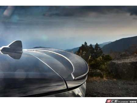 ES#4045762 - 3110-25411 - 3D Design F54 MINI Cooper Clubman Carbon JCW Roof Spoiler - Individualize your MINI's looks with this rear add on spoiler - 3D Design - MINI