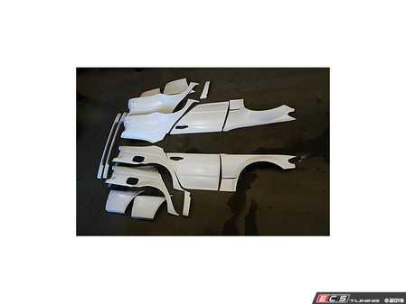 ES#4045535 - 707725KT - E46 Sedan overfender Kit - 60mm complete kit. - Big Duck Club - BMW