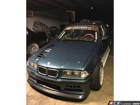 ES#4045509 - 707707 - E36 Front Lip - Carbon Fiber - Big Duck Club - BMW