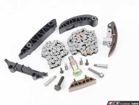 ES#3536760 - 03H109465KT3 - Timing Chain Kit - Replace your timing chains now to prevent future headache - Assembled By ECS - Audi Volkswagen