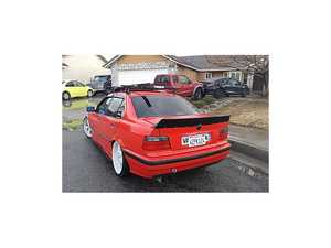 """ES#4045387 - 707704 - Duck Tail Spoiler Sedan Chassis - This 5"""" rear spoiler adds aggressive looks to your E36 Sedan - Big Duck Club - BMW"""