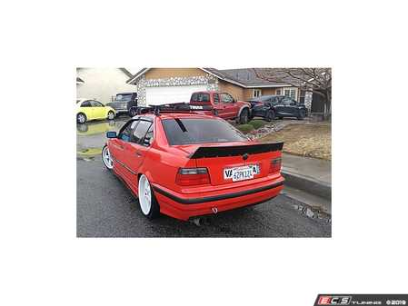 "ES#4045387 - 707704 - Duck Tail Spoiler Sedan Chassis - This 5"" rear spoiler adds aggressive looks to your E36 Sedan - Big Duck Club - BMW"