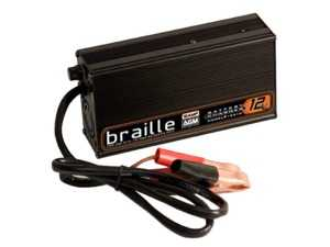 ES#3617573 - 1236 - Braille AGM Battery Charger - 12 Volt, 6 Amp Hour - Ensure your Braille AGM battery is charged properly to prevent damage and increase lifespan! - Braille - BMW MINI