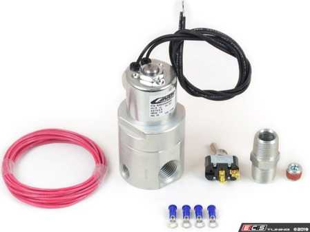 ES#4056090 - 24-270X - 24-270X Accusump Pro Electric Valve Kit - Allows convenient remote operation of Accusump in street, drag race and pre-oiling applications - Canton Racing - Audi BMW Volkswagen MINI