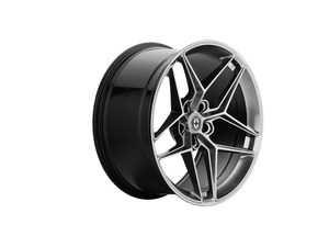 "ES#4056154 - 11l009520043KT - FF11 20"" Staggered Wheel Set - Liquid Metal - 20x9.5"" et20, 20x11"" ET43, 72.6CB, 5x120 - HRE - BMW"