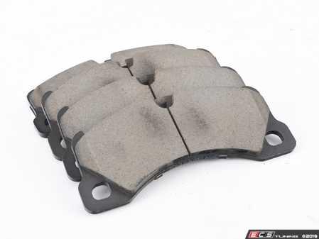 ES#3991013 - Z23-1349 - Z23 Evolution Sport Front Brake Pad Set - Carbon fiber infused ceramic brake pad set - Power Stop - Volkswagen Porsche