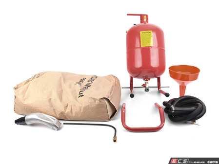 ES#3677648 - B1100008 - Media Blaster Kit - Includes media blaster, walnut shell media and Genuine BMW vacuum adapter - Bav Auto Tools - BMW