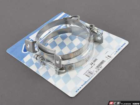 ES#4043107 - 24-200 - Canton Accusump Mounting Clamps - Pair - 2 Or 3 Quart  - When used on each end of an Accusump they provide the proper support at the end caps to ensure the tube does not become distorted. - Accusump - Audi BMW Volkswagen MINI