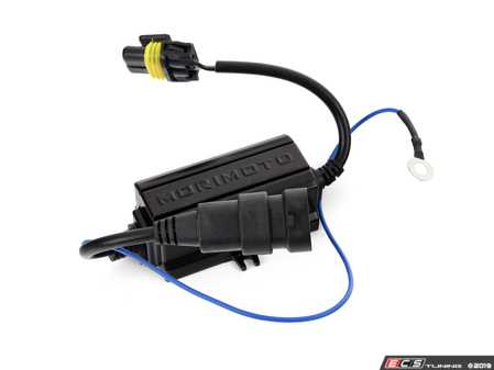 ES#3214380 - H190 - Standalone Can-Bus Wiring Harness - 9005/9006/9012/H10 - Priced Each - Eliminate flickering lights and bulb out signals! - Morimoto - Audi BMW Volkswagen Mercedes Benz MINI Porsche