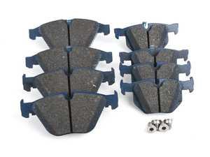 Power Stop Z26-1260 Z26 Front Carbon-Fiber Ceramic Brake Pads