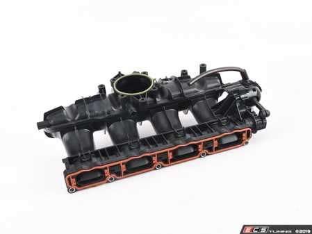 ES#4044998 - 06J133201BH - Intake Manifold - Newest Revision - Complete intake manifold with incorporated flapper - Hamburg Tech - Audi Volkswagen