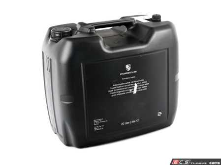 ES#3252322 - 00004330516 - Coolant Anti-Freeze - 20 Liter Container - Priced Each - Avoid coolant system damage from freezing with new anti-freeze - Genuine Porsche - Porsche