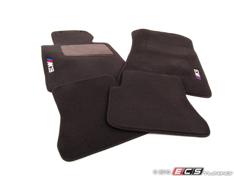 Genuine BMW  82110136311  M3 Carpeted Floor Mat Set  Anthracite