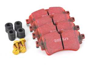 ES#4031324 - DP32254C -  Rear RedStuff Performance Brake Pad Set - A high performance street pad, featuring Kevlar technology. - EBC - Audi