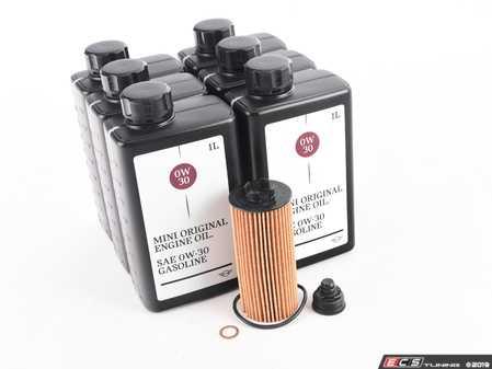 ES#4056611 - 1142857059022KT - MINI Oil Service Kit Gen 3 2.0L 0w-30 - Priced As Kit - All in one service for your MINI : MINI LL-01 FE :: The +1 oil from MINI : Better - Genuine MINI - MINI