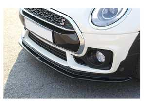 ES#4056756 - MCCM2SJCWFD1T - Front Splitter V.1 MINI CLUBMAN F54 JCW Textured MC-CM-2-S-JCW-FD1T - ABS plastic front splitter that will enhance the look of your vehicle in minutes! - Maxton Design - MINI