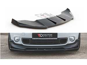 ES#4056853 - MCCOS1FD1T - Front Splitter MINI Countryman R60 JCW Textured MC-CO-S-1-FD1T - ABS plastic front splitter that will enhance the look of your vehicle in minutes! - Maxton Design - MINI
