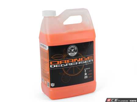 ES#2778020 - CLD201 - Signature Orange Wheel Cleaner & Degreaser - 1 Gallon - Dissolves grease, brake dust and dirt easily - Chemical Guys - Audi BMW Volkswagen Mercedes Benz MINI Porsche