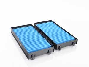 ES#3991490 - 64119248294BF - Bluecare Cabin Filter - Pair - State of the art cabin filters that utilize a Biofunctional layer to protect you and your family from airborne bacteria, viruses, mold, and spores. - Hengst - BMW