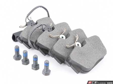 ES#3621895 - 7M3698451F - Rear Brake Pad Set - Low dust and low noise - ATE - Volkswagen
