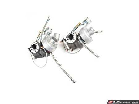 ES#3603472 - ATP-VVW-222 - Audi 2.7T Twin Turbo Eliminator Kit - GT28RS - 700HP capable kit includes two Eliminator GT28RS turbos to bolt up to stock style exhaust manifold and downpipe flanges - ATP - Audi