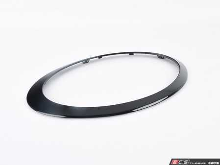 ES#4033376 - 51138739498 - Headlight Trim Ring Black Line - Right  - Upgrade to the black ring, part of black line - Genuine MINI - MINI
