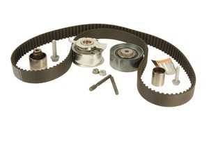 ES#2800630 - 03L198119 - Timing Belt Kit - Standard - Includes timing belt, tensioner, relay rollers (x3), and related hardware - Conti Tech - Volkswagen