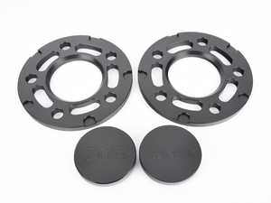 ES#3063081 - TMS324027 - Turner BMW 10mm Front Big Pad Wheel Spacer And Hub Extender Kit - Black (Pair) - Safely install 10mm spacers by extending the surface area of your hub - Turner Motorsport - BMW