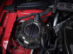 ES#3575771 - 020807ECS01-01 - Black Carbon Fiber Expansion Tank Cover Kit  - Wrap your coolant tank, top to bottom, with carbon fiber! - ECS - Audi Volkswagen