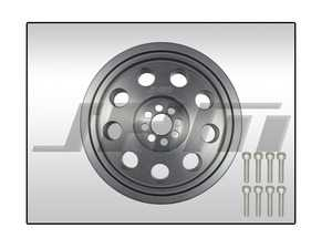 ES#4045868 - 06E105251F-187mm - JHM HD Overdrive Lightweight Supercharger Crank Pulley (187mm) - Eliminates the problematic two-piece design and rubber isolator found in the stock crank pulley while reducing the mass of the motor's rotating assembly. - JH Motorsports  - Audi Volkswagen Porsche
