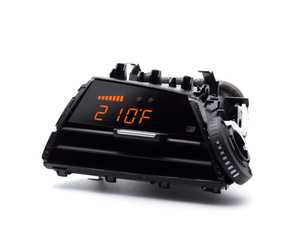 ES#4069347 - 3P3BF2WK - P3 V3 OBD2 Gauge Orange Bars/White Digits - A powerful plug-and-play multifunction display that allows you to monitor vital engine parameters in a simple, elegant package. - P3 Gauges - BMW