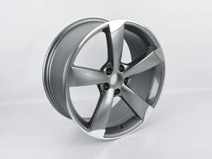 """ES#4069291 - 628-9sd2 - 19"""" Style 628 Wheel - Priced Each - *Scratch And Dent* - *Please see description prior to ordering* 19""""x8.5"""" ET35 66.6CB 5x112 Gunmetal/Machined Face - Alzor - Audi"""