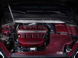 """ES#4057595 - 009199ECS03-01 -  Kohlefaser Luft-Technik Intake System - With Red Carbon Kevlar Lid & Silicone Inlet Tube - In House Engineered """"Air Technology!"""" Featuring Red Carbon Kevlar Dual Air Inlet Lid, Silicone Turbo Inlet Coupler and Coolant Reroute Hose - ECS - Audi Volkswagen"""