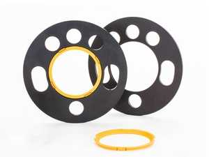 ES#4070250 - 56050085 - Wheel Spacer Kit - 5mm (1 Pair) - Through-hole system with multi bolt holes and patented center adapters for cars with wheel bolts and wheel studs. - Suspension Techniques - Audi Volkswagen