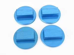 ES#4056730 - BMWJACKPADBLUE4 - BMW Jack Pad Blue - Set Of 4  - Lift your BMW up properly with these jack pads! - Burger Motorsports - BMW
