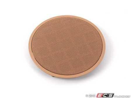 ES#101567 - 51418178999 - Front Speaker Cover - Priced Each - Sandbeige/Beige. Protects the front door speaker - Genuine BMW - BMW