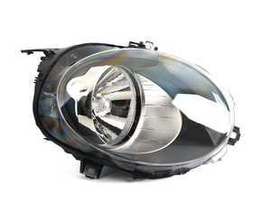 ES#3677449 - 63117401605 - Halogen Headlight With White Indicators - Left 45358  - Clear / Flash orange directional indicators headlight unit - Valeo - MINI