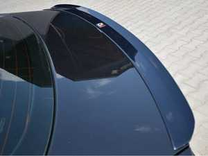 ES#4070677 - AU-A5-1F-SLINE- - Rear Spoiler Cap - Carbon Look  - Aggressive looks and style for your Audi! - Maxton Design - Audi
