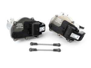 ES#4046199 - 13627838085KT - Throttle Body Actuator - Set - Pair of throttle body actuators with arms - Assembled By ECS - BMW