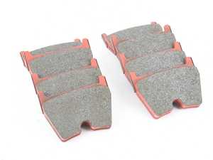 ES#3545954 - 2931RST3 - RST3 Red Rally/Sprint/Stock Car Racing Brake Pads - Front - RST3 is a medium-high friction metal- ceramic compound containing steel and acrylic fibers - It captivates by its low heat conductivity. - Pagid Racing - Audi