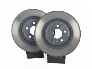 ES#2215099 - 4H0615601H - Rear Brake Rotors - Pair (330x22) - Restore the stopping power in your vehicle - Genuine Volkswagen Audi - Audi