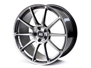 "ES#4135486 - 88.102.14hbKT - 19"" RSE102 - Set Of Four - 19""X9.0"" ET40 5x112 - Hyper Black Gloss - Neuspeed - Audi"