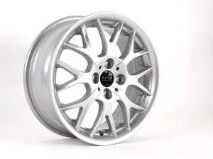 "ES#65024 - 36116775855 - R90 Alloy Wheel 16"" (4x100) - Silver - Priced Each - 16 X 6.5 J ET:48 Cromodora Wheels : Made in Italy : Formerly Made by BBS - Genuine MINI - MINI"