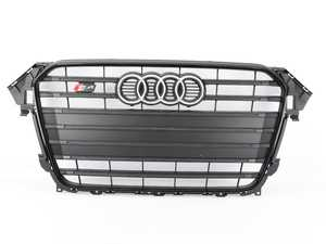 ES#2541017 - 8K0853651PVMZ - S4 Grille Assembly - Black With Chrome Trim - Clean up or change your look - Genuine Volkswagen Audi - Audi