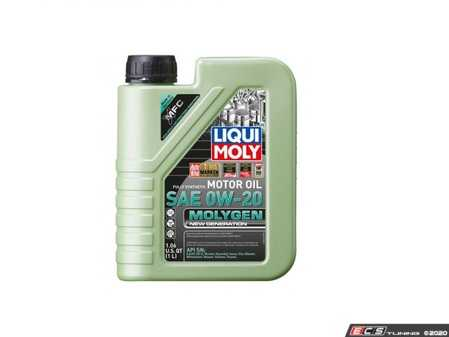 ES#4135636 - 20436 - Molygen New Generation Engine Oil (0w-20) - 1 Liter - Full synthetic oil with fluorescent, friction-reducing additive! - Liqui-Moly - Audi Volkswagen