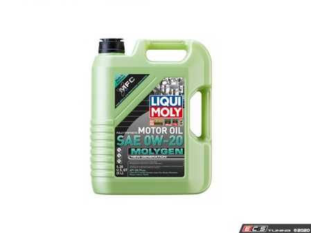 ES#4135645 - 20438 - Molygen New Generation Engine Oil (0w-20) - 5 Liter - Full synthetic oil with fluorescent, friction-reducing additive! - Liqui-Moly - Audi Volkswagen