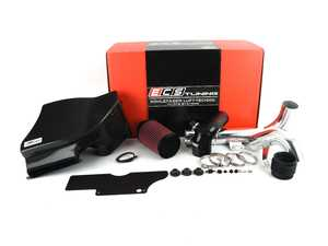 """ES#3493906 - 018611ecs0106KT - Kohlefaser Luft-Technik Intake System - With Carbon Fiber Box & Polished Aluminum Tubes - In House Engineered """"Air Technology"""" Featuring a Carbon Fiber Airbox, reusable air filter, 3.0"""" tubes and a CNC MAF housing for maximum performance and stunning aesthetics! - ECS - Volkswagen"""