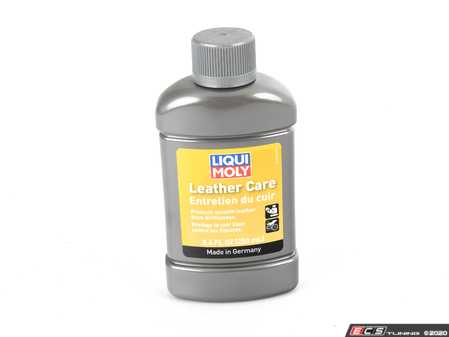 ES#4017315 - 20394 - Leather Care - 250 ml - Take car of your leather interior with this special conditioner - Liqui-Moly - Audi BMW Volkswagen Mercedes Benz MINI Porsche