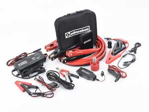 ES#4070023 - schbattKT - Schwaben Jump & Charge Tool Kit - Comprehensive kit to help jump start, maintain, and charge your battery for a healthy electrical system. - Schwaben - Audi BMW Volkswagen Mercedes Benz MINI Porsche
